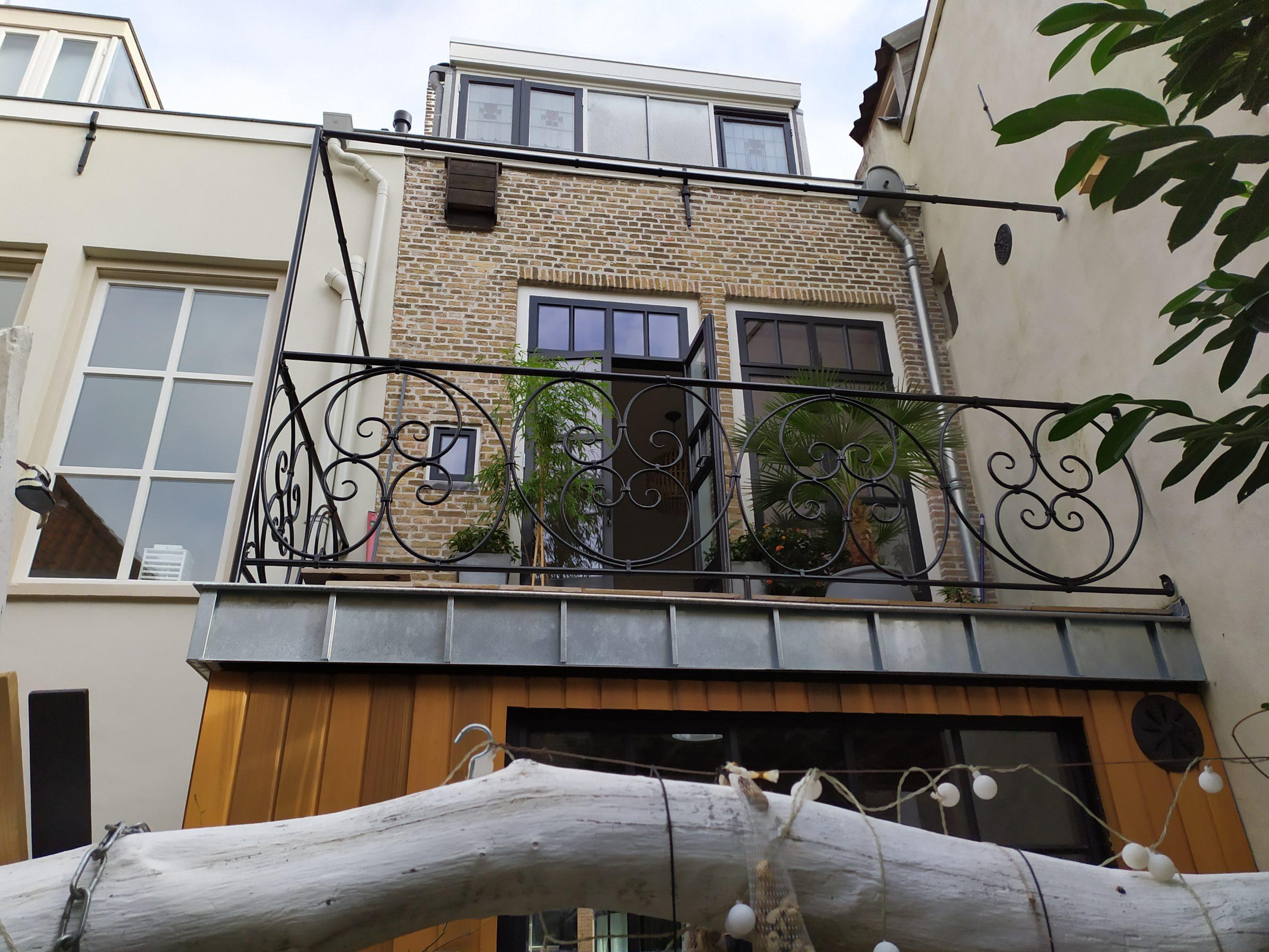 Balkonhek en pergola